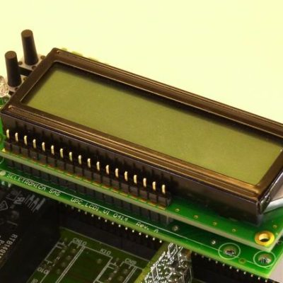 LCD I2C Bus PCF8574 board with 4 keys