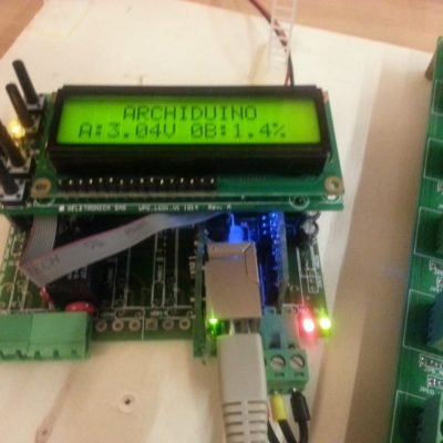 Archiduino with ethernet SnipCard