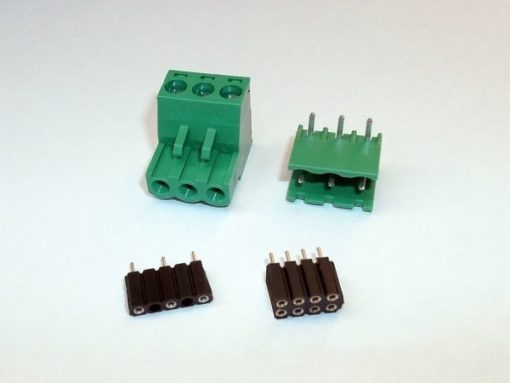 Plugs and terminals kit for Archiduino