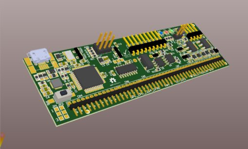 Archiduino ATMega 1284 CPU board