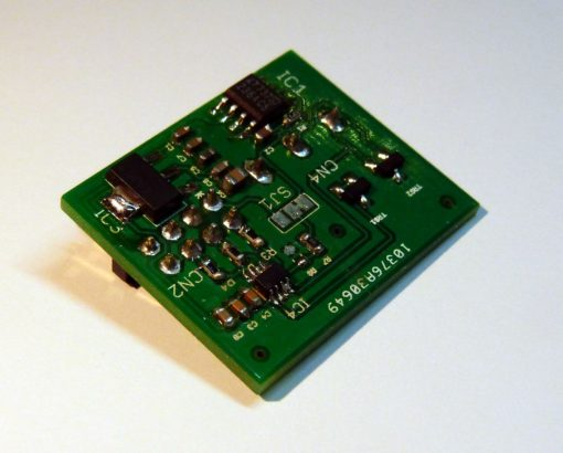 SnipCard DAC 16 bit - cover photo - side