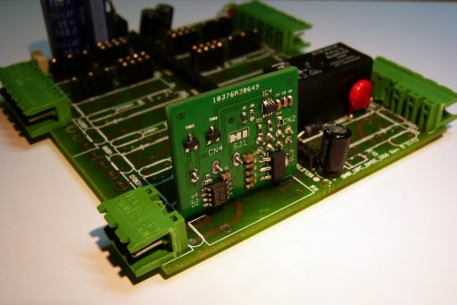 SnipCard DAC 16 bit mounted on base board