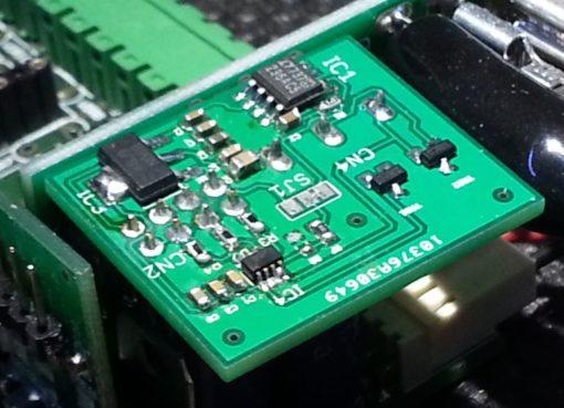 SnipCard DAC 16 bit under test
