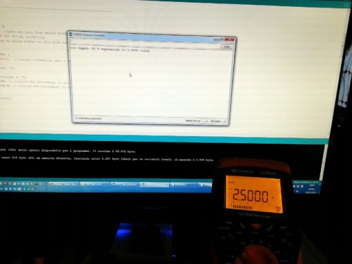 Test with SnipCard DAC 16 bit and Keysight U1252B
