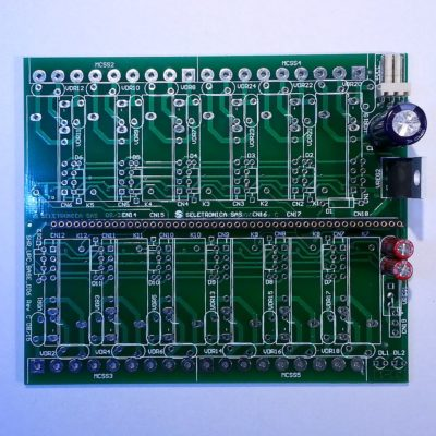 Archiduino Base Board - bare board