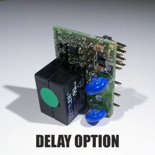 Archiduino - Dual relay snipcard - Delay option